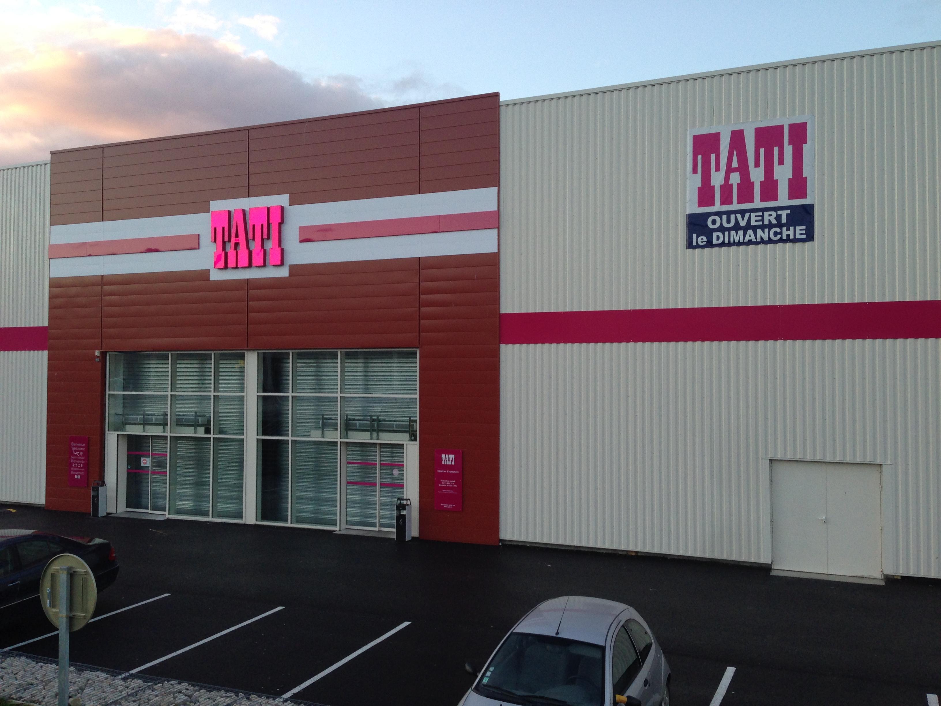 Surface commerciale tati arcade r alisations - Bureau de change cherbourg ...