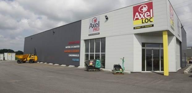 Construction d'une surface commerciale-Axel Location