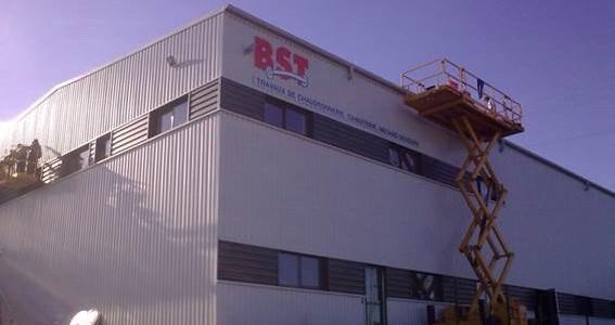 Construction d'une chaudronnerie industrielle-BST