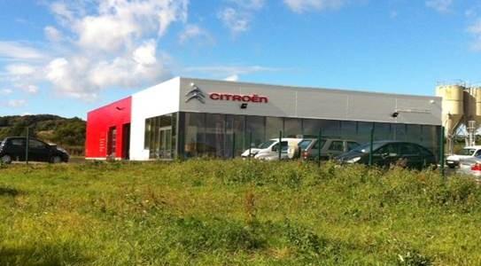 Construction d un garage automobile arcade r alisations for Garage citroen nation paris 12