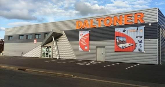 Remodeling d'une surface commerciale-DALTONER
