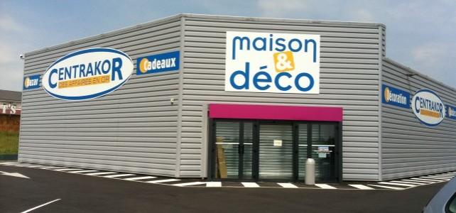 Construction d'une  surface commerciale MAISON ET DECO