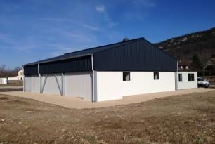 Construction d'une cuisine centrale LABORATOIRE gosini
