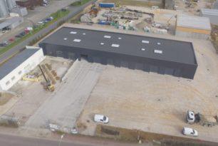 Extension du bâtiment logistique et de stockage à Carentan-COLISERVICE
