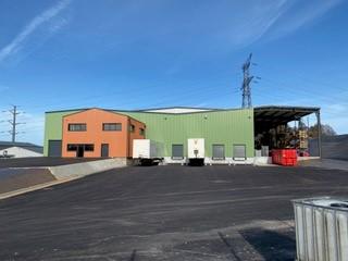 Fin de chantier de l'entrepôt logistique LEGRUEL à Brix